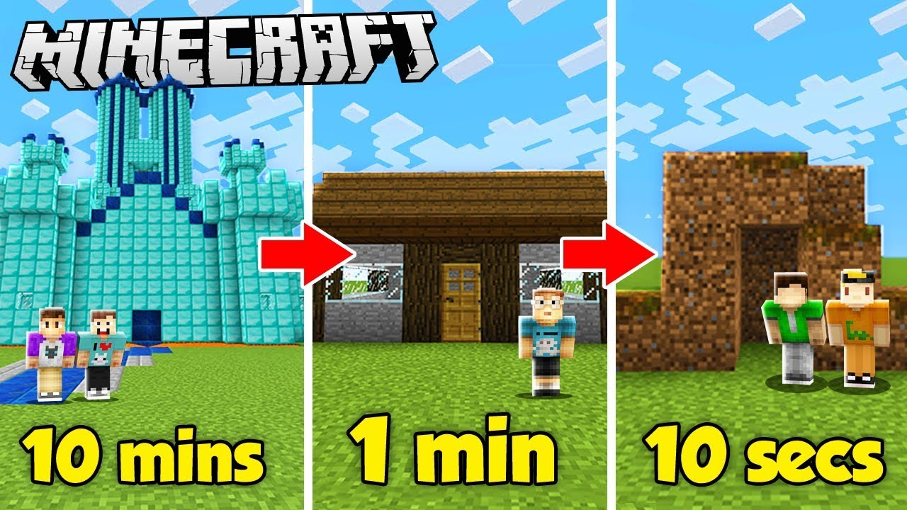 10-minute-vs-1-minute-vs-10-second-house-build-challenge-the-pals-minecraft