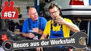 Gefährlich: Federbruch und 2 Bremssättel verdreht!| Parkpilot nachrüsten und Steinschlagreparatur