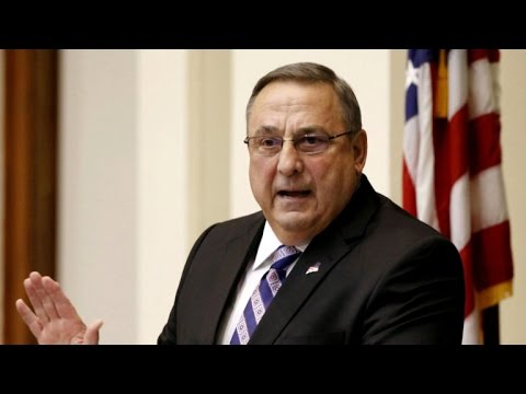 Maine governor leaves voicemail riddled with profanity
