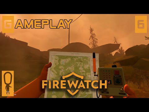 Firewatch - Part 6 - Hideout - Let's Play - Firewatch Gameplay