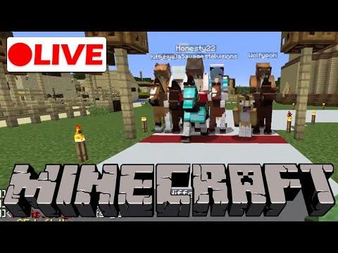 🔴 Horse Racing Event  | Minecraft Live Stream