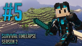 Going Nether!  | Minecraft Survival Timelapse S 2 Ep 5 | GD Venus |