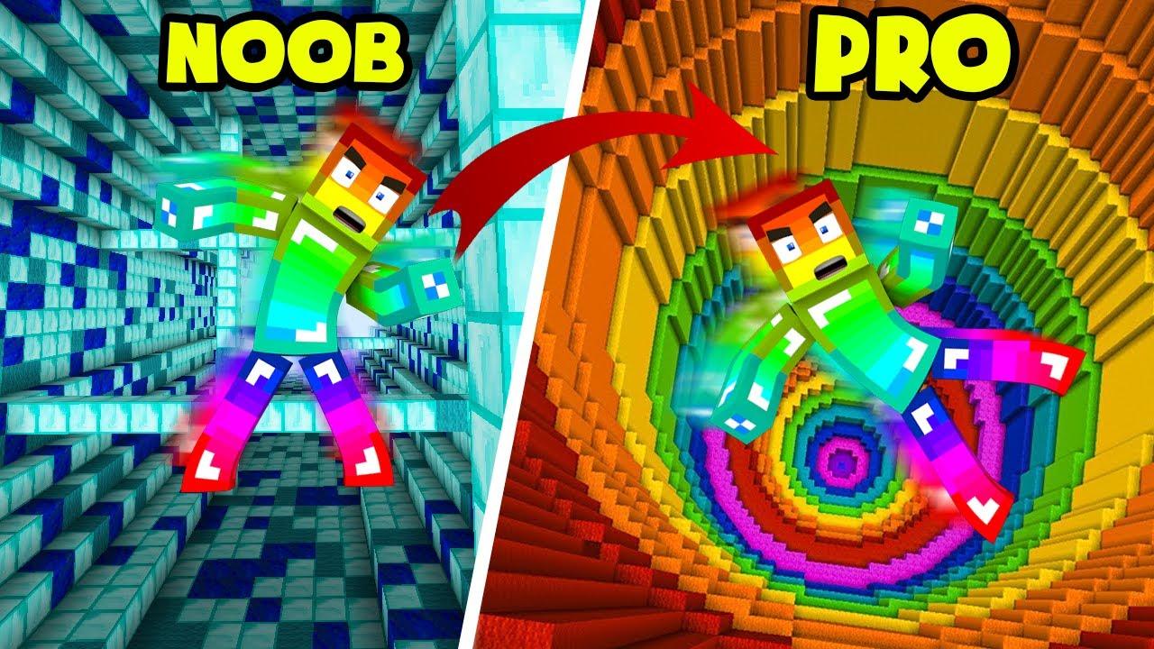 MINI GAME : DROPPER NOOB Vs PRO ** THỬ THÁCH T GAMING VÀ NOOB TEAM CHIẾN THẮNG NHẢY DÙ KHÓ NHẤT ??