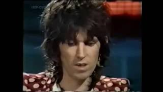 Keith Richards AKA Mr Elegantly Wasted -  Complete TV interview 1974 (Old Grey Whistle Test)