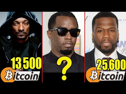 Top Richest Rappers Bitcoin Worth - Crypto Currencies