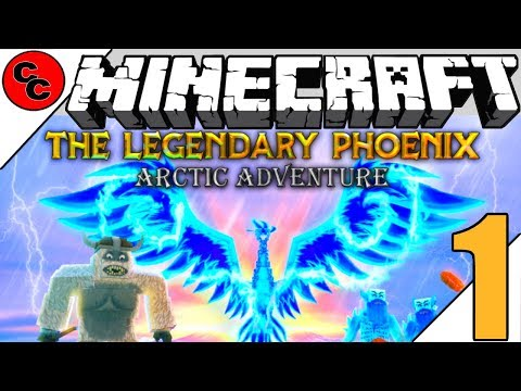 "Minecraft : ""THE LEGENDARY PHOENIX Map Lets Play Ep1 Its Free """