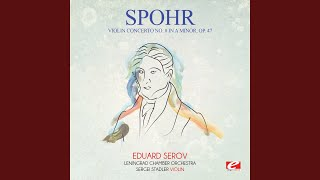 Violin Concerto No. 8 in A Minor, Op. 47: I. Recitative: Allegro molto / II. Adagio -...