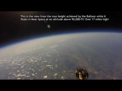 Balloon with GoPro to Near Space
