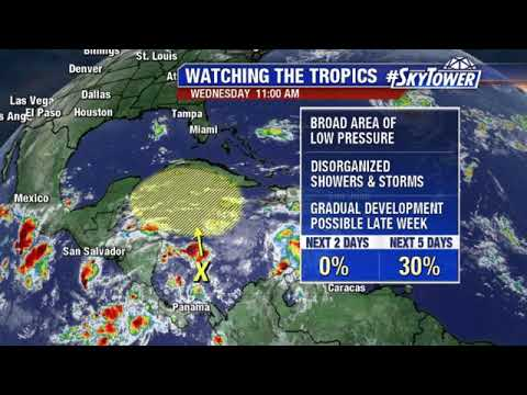 Tropical weather forecast: October 3, 2018
