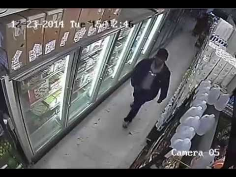 Police release video of suspect in fatal grocery store shooting