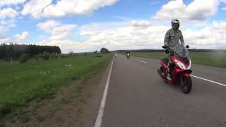Путешествие на скутере Honda PCX 150, на водопад(, 2016-08-30T06:47:45.000Z)