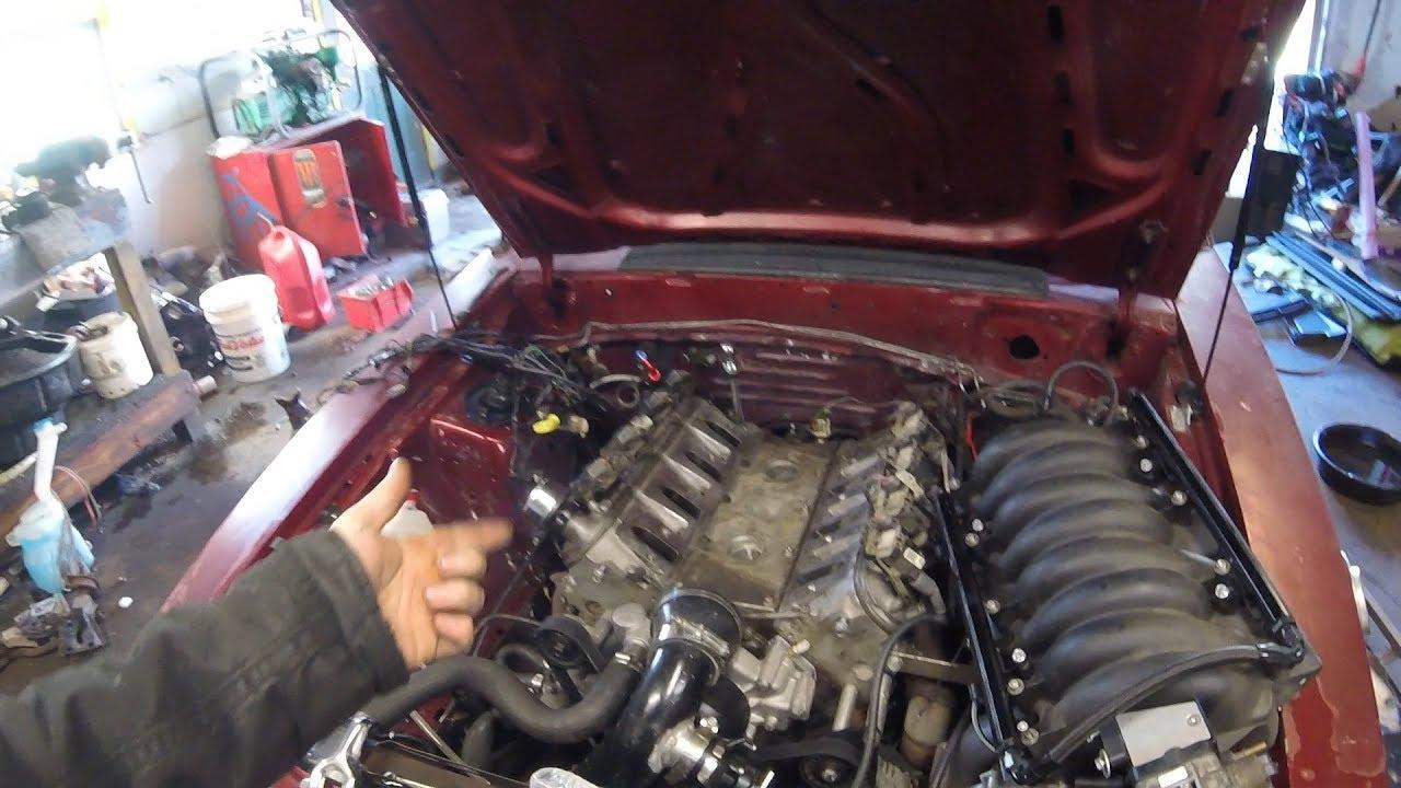 LS 5 3 Turbo Swapped Fox Body Steam Port Plumbing  Radiator Issues?