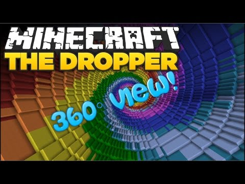 THE DROPPER (Minecraft 360 Degree Video)