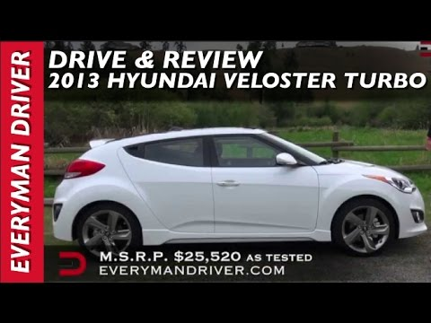 Here s the 2013 Hyundai Veloster Turbo Review on Everyman Driver