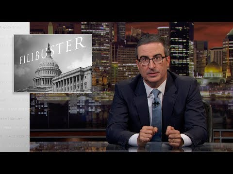 Filibuster: Last Week Tonight with John Oliver