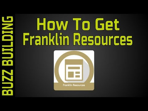 Buzz Building - How to Get Franklin Resources