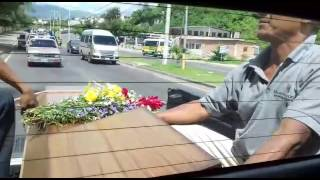 Doloroso adiós a madre y sus dos hijos asesinados en la capital de Honduras