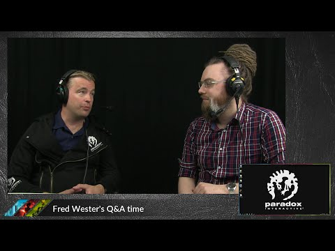 Livestream AMA with Fredrik Wester, Paradox Interactive CEO