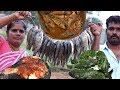 Steamed FISH -  FISH Fry - FISH Curry Recipe   VILLAGE FOOD
