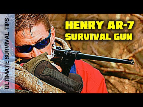 22 Caliber Henry AR-7 Survival Rifle - REVIEW - Best .22 Guns SERIES