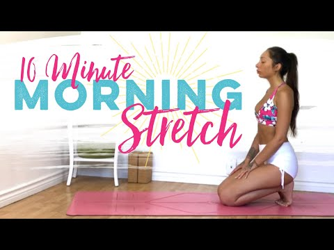 10 Minute Morning Yoga Flow For Beginners