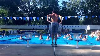 Ok Aqua Zumba Choreography