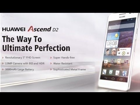 Huawei Ascend D2 - The Most Powerful Smartphone Full Specifications