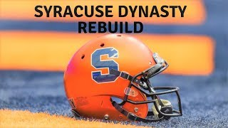 NCAA FOOTBALL 14: SYRACUSE DYNASTY|EPISODE 7| YEAR 2016