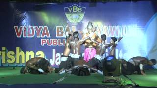 Prince Dance Group at Vidya Bal Bhawan Public School, Vasundhara