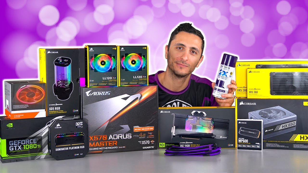 Download The Custom Water-Cooled Thanos PC Build - Part 1