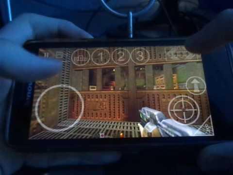 QII4A - отличный порт игры Quake 2 на Андроид.