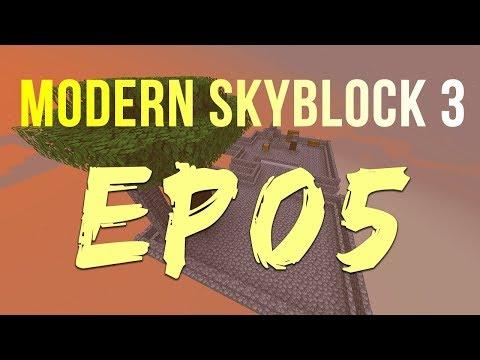 Modern skyblock 3 - EP5 | Tinkers modifiers & Unlocking basic automation