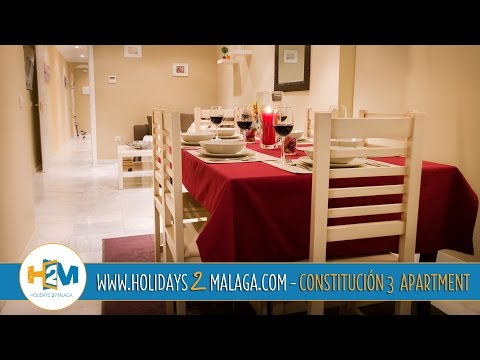 "Holidays 2 Malaga - Apartment for Rent in Constitucion 3 Room (""Holidays Rentals"" Malaga / Spain)"