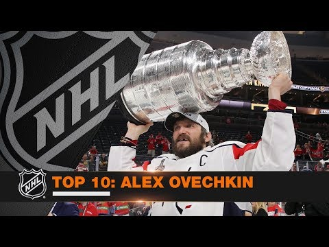 Top 10 Alex Ovechkin from 2017-18