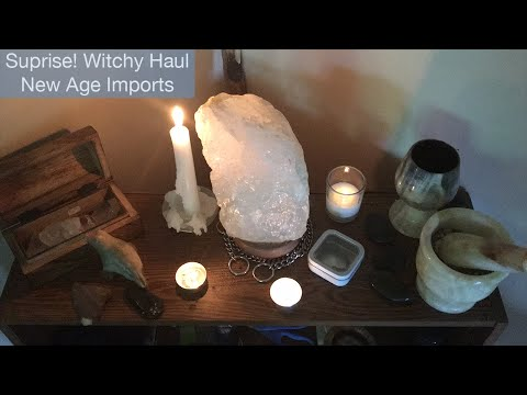 The Witchy Show: SURPRISE HAUL! - My New Age Incense (New Ag