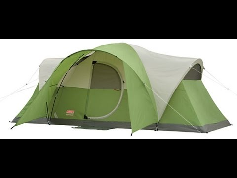 Review for Coleman Montana 8 Tent & Review for Coleman Montana 8 Tent - YouTube