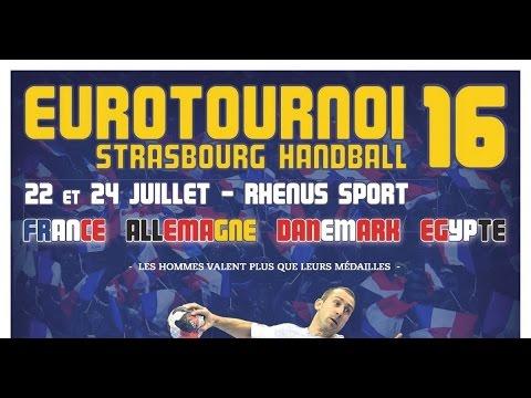 Allemagne vs Denmark Handball EuroTournoi 2016