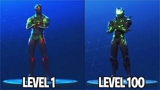 OMEGA LEVEL 55 MASK UNLOCKED! Fortnite Season 4 Battle Pass Tier 100 SKIN