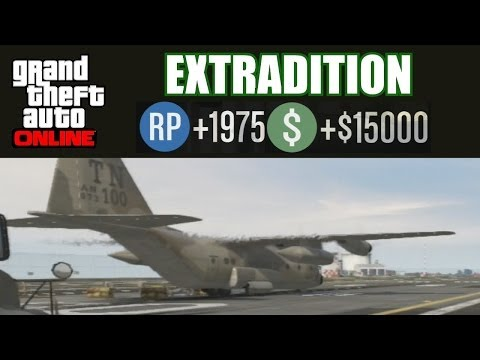 GTA Online - Extradition - Martin Mission - SOLO Hard - After patch 1.13 (High Life Update)