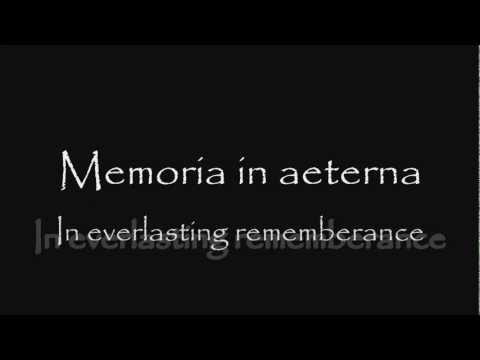 Globus - In Memoriam - Lyrics with English Translation [HD]