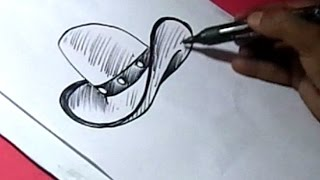 How to Draw COWBOY HAT Drawing Step by Step for kids