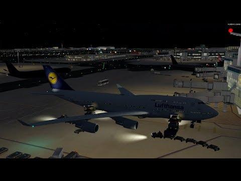 [P3D v4] Accidentally Pressing TOGA on Final Approach.....   Lufthansa 747 at EDDF VATSIM Event