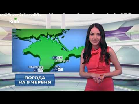 Телеканал Київ: Погода на 09.06.19