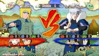 Naruto Ultimate Ninja Storm 3 Minato [Jonin] vs Tobirama Gameplay