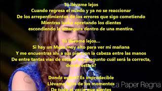 Скачать Portami Via Llevame Lejos Federica Carta Ft Fabrizio Moro Lyrics Español