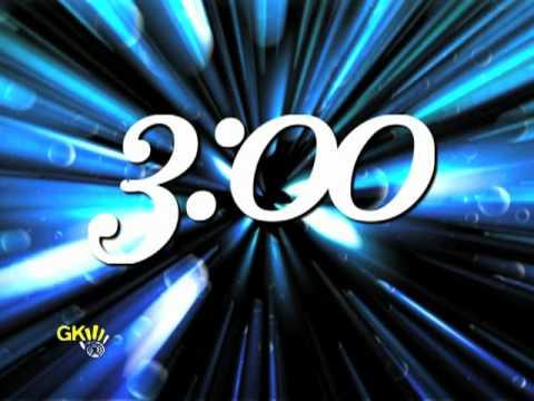 Blue Starburst Countdown - God's Kids Worship