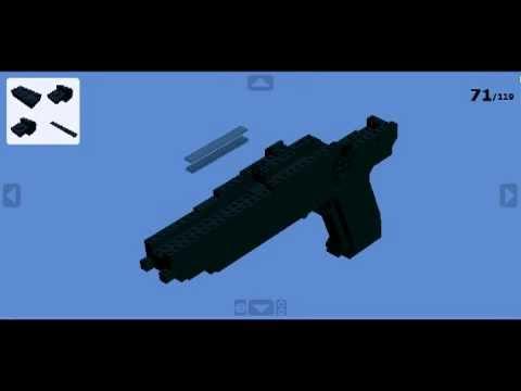 Lego - Pistolet 9 mm à