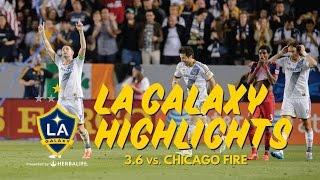 HIGHLIGHTS: LA Galaxy vs Chicago Fire | March 6th, 2015