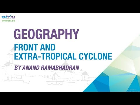 FRONT and EXTRA-TROPICAL CYCLONE / BOMB CYCLONE  | GEOGRAPHY CONCEPTS SIMPLIFIED | NEO IAS