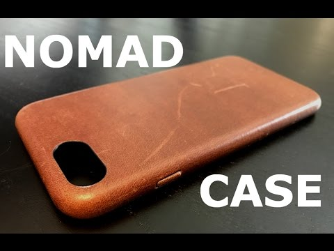 the latest b4107 550d6 iPhone 7 Case Review - Nomad Leather Case